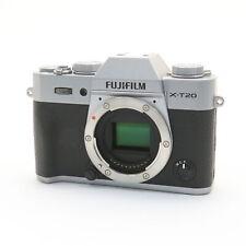 Fujifilm Fuji X-T20 24.3MP Mirrorless Digital Camera Body (Silver) #111