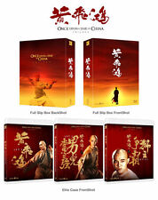 Once Upon A Time In China Trilogy (2016, Blu-ray) Box Set / Jet Li