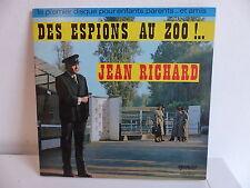 JEAN RICHARD Livre disque Des espions au Zoo AL 18201 25 CMS