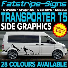 VW TRANSPORTER T5 GRAPHICS STICKERS STRIPES DECALS DAY VAN CAMPER VDUB SWB LWB