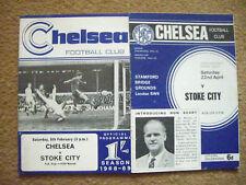 Chelsea V Stoke City 2 programas