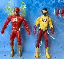 FLASH REBIRTH & KID FLASH DC Multiverse Wally West cousin Teen Titans SHIPS FAST