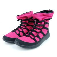 Nike Roshe One Hi Big Kids Sneakerboots Rush Pink Black 807758 600 Youth Size **