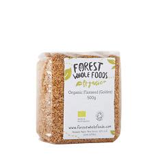 Biologique Doré Lin (Graines de Lin Graines de Lin) 500g - Forest Whole Foods
