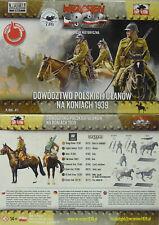 First To Fight 071 Polish Ulanen On Horseback 1939-1:72