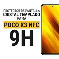 Sentete® Xiaomi POCO X3 NFC Protector de Pantalla de Cristal Templado PREMIUM
