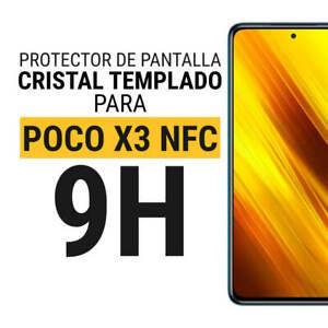 Sentete® Xiaomi POCO X3 NFC X3 PRO Protector Pantalla Cristal Templado PREMIUM