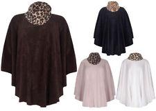 Animal Print Machine Washable Plus Size Coats & Jackets for Women