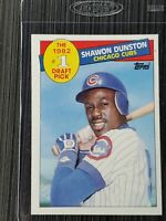 1985 Topps Shawon Dunston #1 Draft Pick Rookie Card (RC) #280
