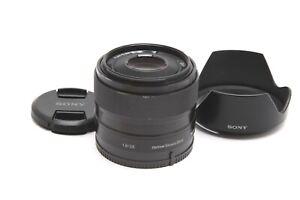 Sony E 35mm f1.8 OSS Lens with Hood #33150