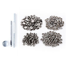 10x15mm 4 Pièce laiton boutons-pression & 2.5mm Perforatrice et 1 Outil à main