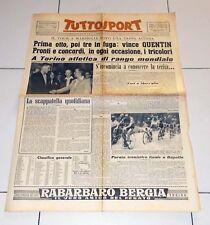 Tuttosport 19 luglio 1953 TOUR DE FRANCE Quentin Marsiglia Atletica Torino