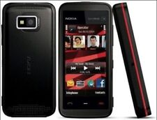 Nokia XpressMusic 5530 - Black with red accents (Unlocked) Smartphone
