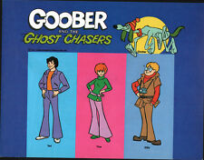 Hanna Barbera STYLE GUIDE PLATE - GOOBER & The GHOST CHASERS