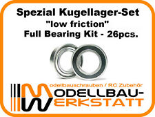 SPEZIAL Kugellager Set Team Associated RC8.2e RC8Be full bearing kit