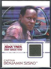 Quotable Star Trek DS9 Costume Card C9 Capt Sisko OLIVE