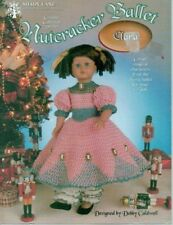 "Crochet Doll Clothes Pattern Nutcracker Ballet Clara Fits 15"" Syndees Dolls 1097"