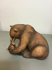 National Wildlife Federation Mothers Pride Bear & Cub by Nicholas Wilson 1984