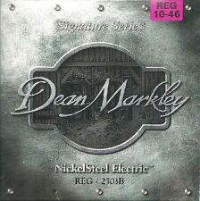 DEAN MARKLEY  Jeu Cordes électrique NICKEL STEEL Signature Regular 10-46 - 2503B