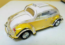 VW Beetle Bug Bluetooth Speaker YELLOW color FREE US SHIPPING