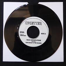 """BOB MARLEY WAILERS Head Corner Stone/All In One UPSETTER Jamaican 7"""" 45 REGGAE"""