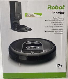 iRobot Roomba i7+  i7550 Wi-Fi Robot Vacuum Cleaner, automatic dirt disposal