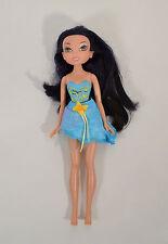 "Silvermist 9"" Blue Water Fairy Action Figure Doll Disney Tinker Bell Fairies"