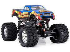 NEW REDCAT GROUND POUNDER 1/10 Scale 4WD RC Monster Truck Electric Brushed BLUE