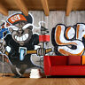 3D Graffiti beautiful WallPaper Murals Wall Print Decal Wall Deco AJ WALLPAPER