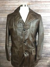 Startown Mens L? Glove Tanned? Leather 3 Button Removable Liner Warm Jacket