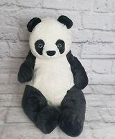 "Panda Dark Gray White 16"" Plush Unknown Brand Tag Missing"