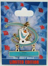 DISNEY WORLD GENEARATION D COUNTDOWN FROZEN OLAF COMPLETER PIN LE 1000 13 of 13