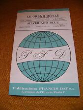 Partitur Le Grand engpass Silber & Blue Les Schilf & Barry Mason