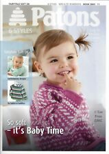 VAT Free Hand Knitting PATTERNS ONLY Patons Baby Child Cardigans Tops  3843 New