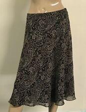 Nice Jones New York Tan Absract Career Office Skirt Size 12