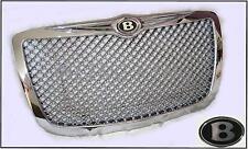 05-2010 Chrysler 300 Chrome Mesh Bentley grill grille w/Bentley B emblems badges