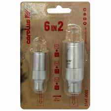 "Carolus 6 in 2 Socket Adaptors Converters 1/2"" 3/8"" 1/4"" ,mac tools van sold"