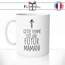 Mug Cette Femme Est Une Futur Maman Naissance Femme Enceinte Tasse Personnalisée