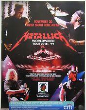 Metallica Salt Lake City 2018 concert poster (68x48cm) / Worldwired tour