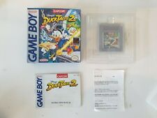 NEUF DUCKTALES DUCK TALES 2 Nintendo Gameboy Game boy Boxed boite OVP DMG-D7-USA