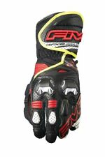 FIVE RFX2 Airflow Motorcycle Gloves - Black/Fluro Large (10)