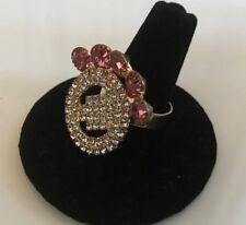 Womens Ring Jewelry Gold Fashion Ring Adjustable Band Pakistani Ring Size 7