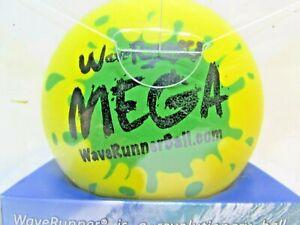 "NEW WaveRunner #1 Mega Water Skipping Ball 3.5"" Yellow POOL LAKE BEACH FREE SHIP"