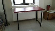 Table intérieur bureau vintage design industriel années 50 60 atelier