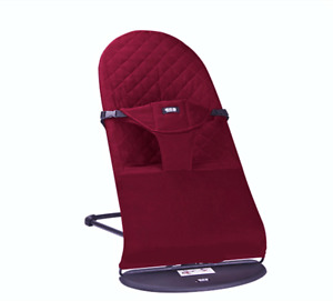 Baby Bouncer Balance Soft Bouncer Brand New with Extra Cover Premium in Red