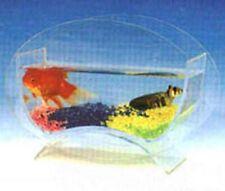Table Top Home Beta Fish Bubble Aquarium Bowl Tank