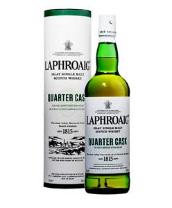 Laphroaig Quarter Cask Single Malt Scotch Whisky 12YO 48% 700ML FREE SHIPPING