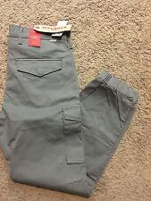 NWT Levi's Men's Banded Cargo Slim Fit Jogger Pants Gray 34X30 MSRP$69.50