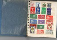 Petit album contenant 78 timbres Europa France et 54 grands formats tabl. neufs