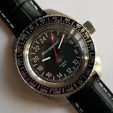 Russian watch. Vostok Komandirskie. 030936. 24H. Automatic. 20 ATM. New!